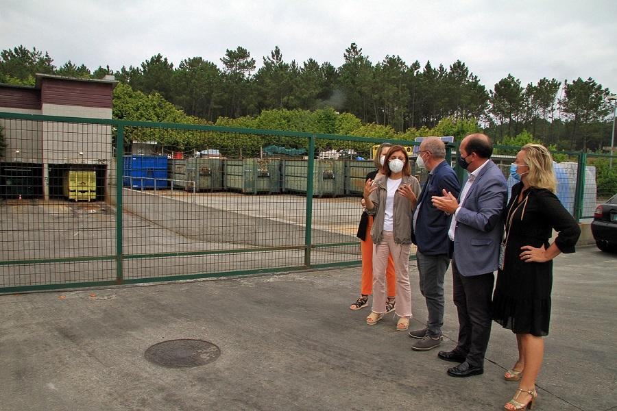 La microplanta de Ponteceso se convertirá en una planta de transferencia de residuos de gran capacidad