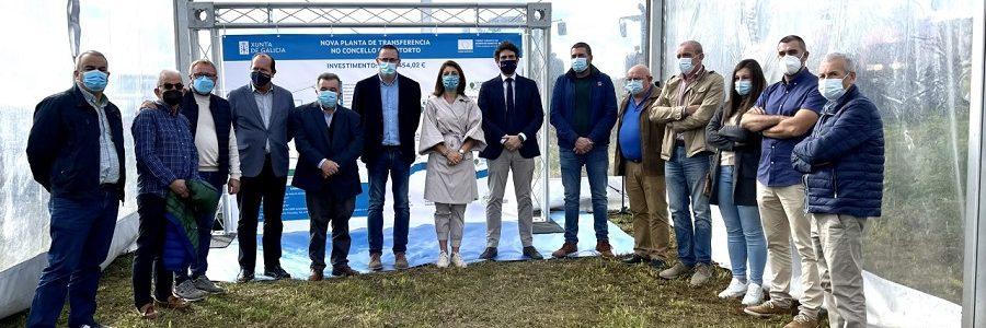 La Xunta adjudicará este otoño las obras de la planta de transferencia de residuos de Riotorto