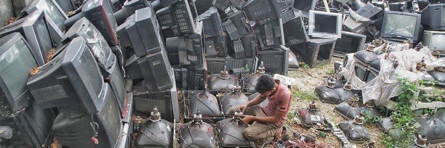 La generación mundial de residuos electrónicos alcanzará este año los 57,4 millones de toneladas