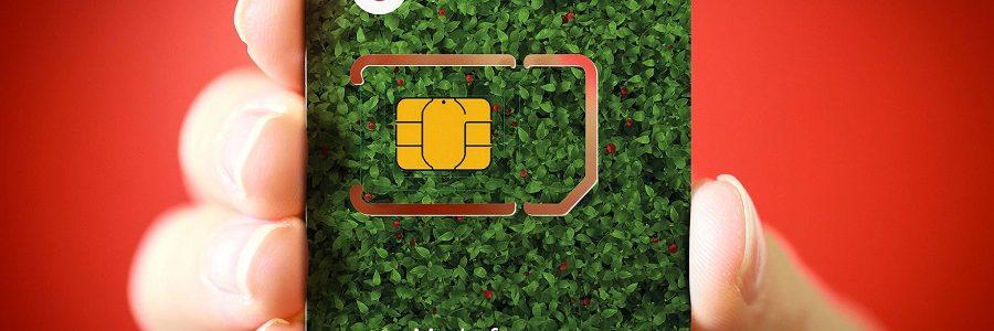 Vodafone lanza una tarjeta SIM de plástico reciclado
