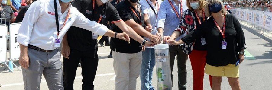 Recuperadas 1,3 toneladas de pilas durante la última edición de La Vuelta